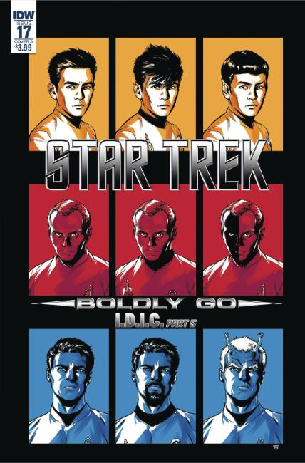 Star Trek Boldly Go #17 Cover A [IDW Comic]