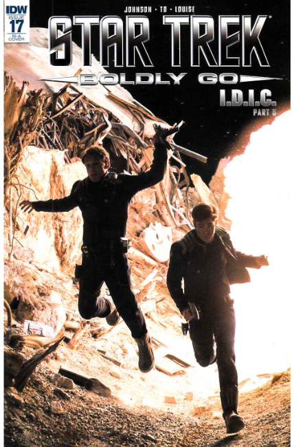 Star Trek Boldly Go #17 Cover RIA Very Fine (8.0) [IDW Comic] THUMBNAIL
