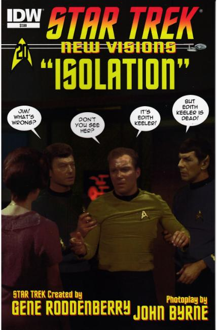 Star Trek New Visions Isolation (One Shot) [IDW Comic] THUMBNAIL