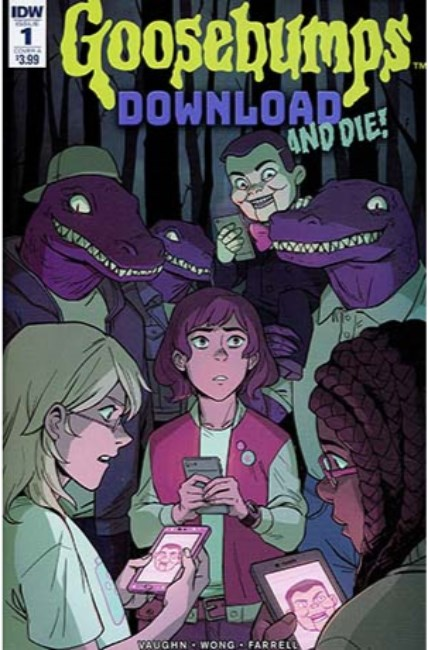 Goosebumps Download & Die #1 Cover A [IDW Comic]