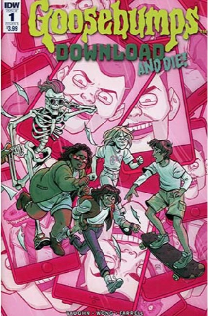 Goosebumps Download & Die #1 Cover B [IDW Comic] THUMBNAIL