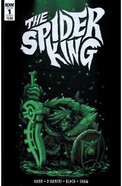 Spider King #1 Cover A [IDW Comic] THUMBNAIL