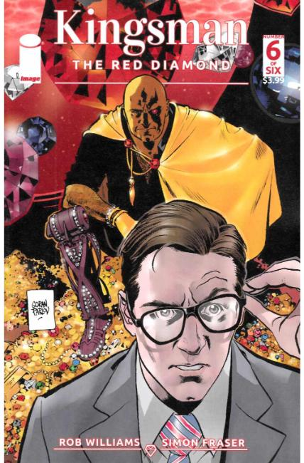 Kingsman Red Diamond #6 Cover A [Image Comic]