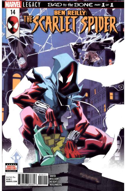 Ben Reilly Scarlet Spider #14 [Marvel Comic] LARGE