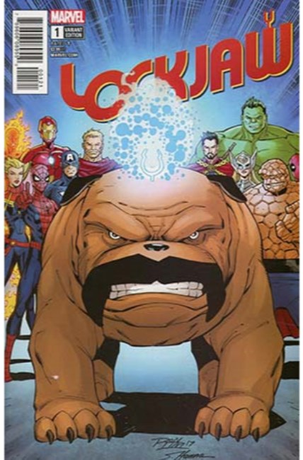 Lockjaw #1 Lim Variant Cover [Marvel Comic] LARGE