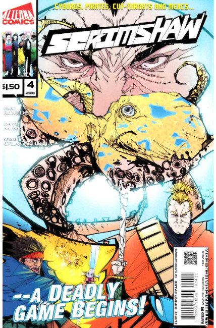 Scrimshaw #4 [Alterna Comic] LARGE
