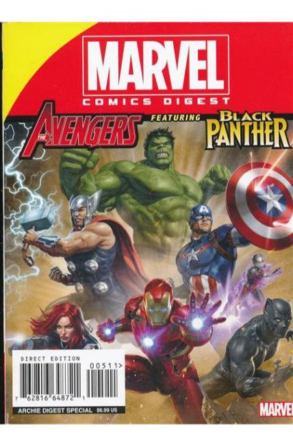 Marvel Comics Digest #5 Avengers/Black Panther [Archie Comic]
