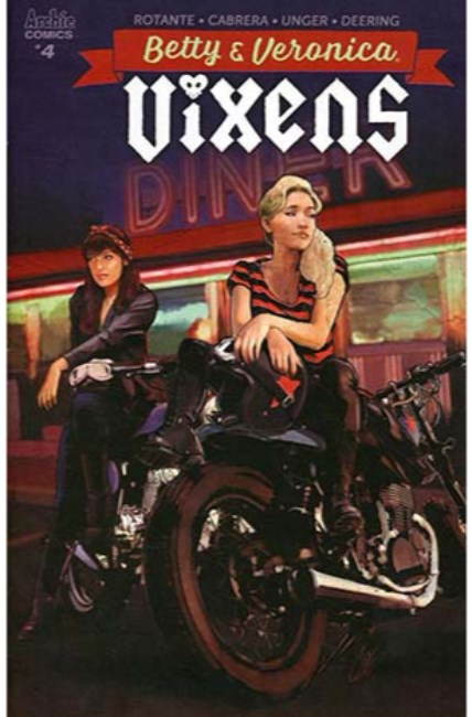 Betty and Veronica Vixens #4 Cover B [Archie Comic]