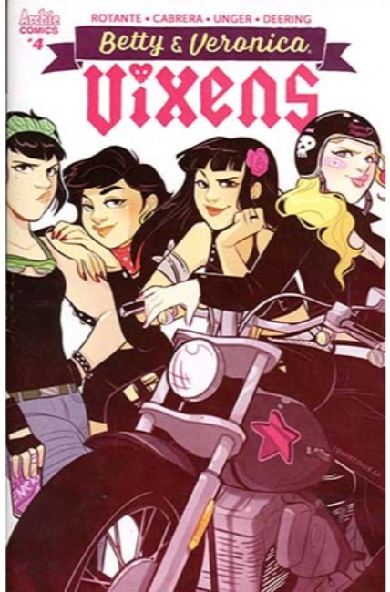Betty and Veronica Vixens #4 Cover C [Archie Comic]