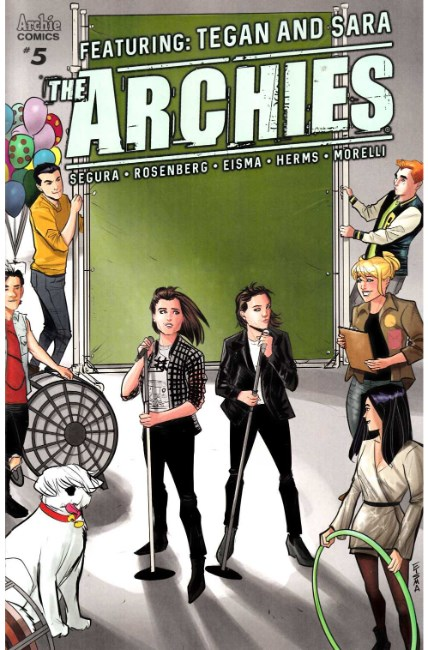 Archies #5 Cover B [Archie Comic] THUMBNAIL