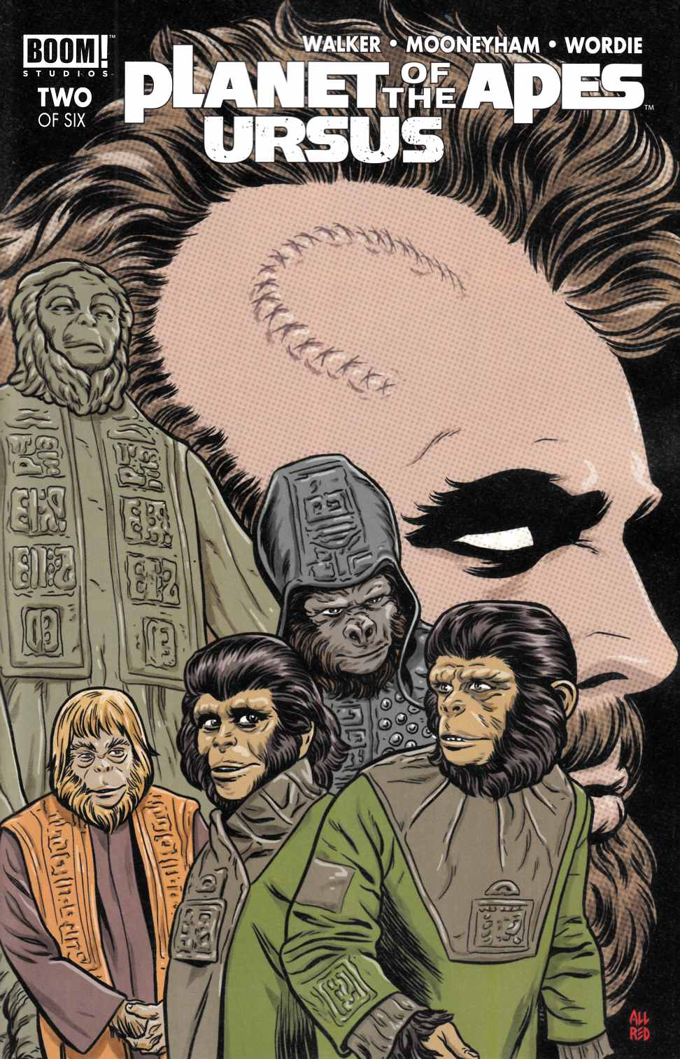 Planet of the Apes Ursus #2 Cover B [Boom Comic] THUMBNAIL