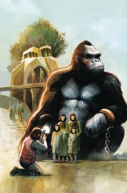Kong on Planet of Apes #4 [Boom Comic]