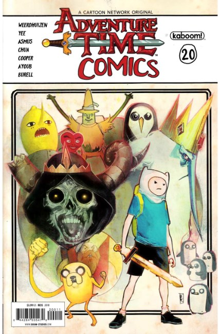 Adventure Time Comics #20 [Boom Comic] THUMBNAIL