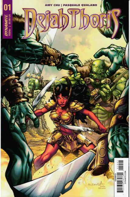 Dejah Thoris #1 Cover D- Davila [Dynamite Comic] THUMBNAIL