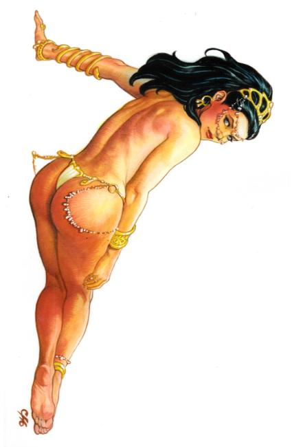 Dejah Thoris #1 Cover F- Cho Virgin Incentive [Dynamite Comic] THUMBNAIL