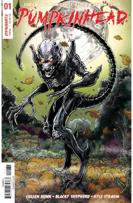 Pumpkinhead #1 Cover C [Dynamite Comic]
