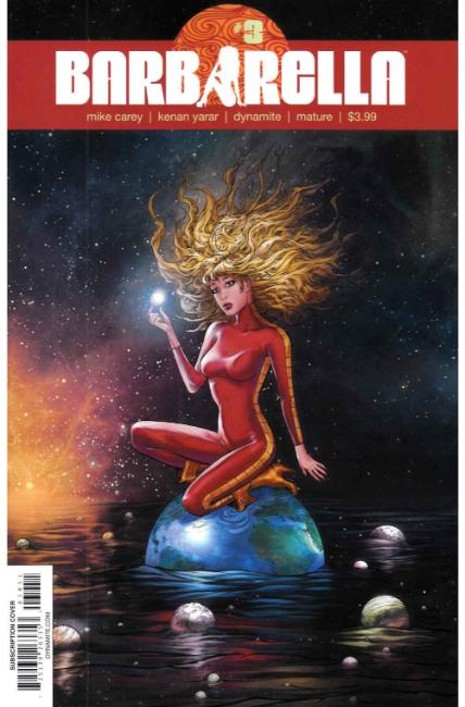 Barbarella #3 Cover E [Dynamite Comic] LARGE