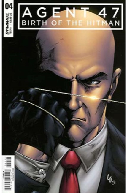 Agent 47 Birth of Hitman #4 Cover A [Dynamite Comic] THUMBNAIL