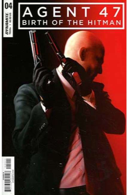 Agent 47 Birth of Hitman #4 Cover B [Dynamite Comic] THUMBNAIL