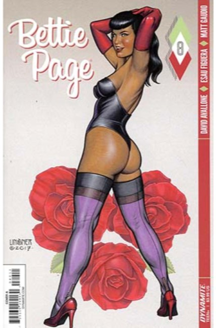 Bettie Page #8 Cover A [Dynamite Comic] THUMBNAIL