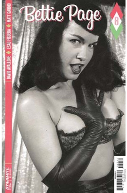 Bettie Page #8 Cover C [Dynamite Comic] THUMBNAIL