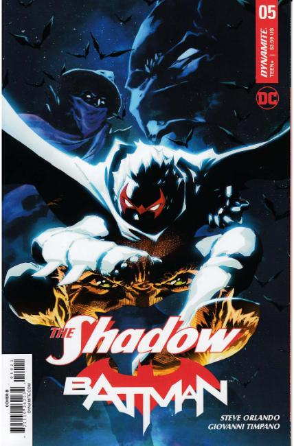 Shadow Batman #5 Cover B [Dynamite Comic] THUMBNAIL