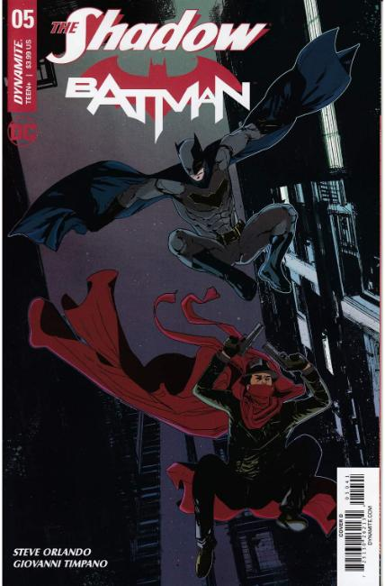 Shadow Batman #5 Cover D [Dynamite Comic] THUMBNAIL