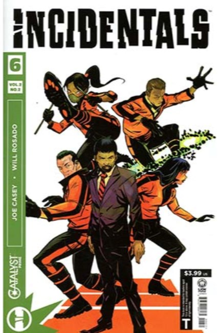 Catalyst Prime Incidentals #6 [Lion Forge Comic] THUMBNAIL
