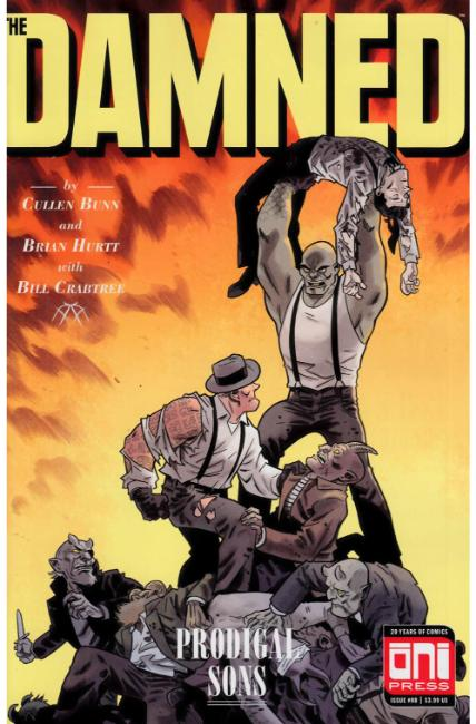 Damned #8 [Oni Press Comic] THUMBNAIL