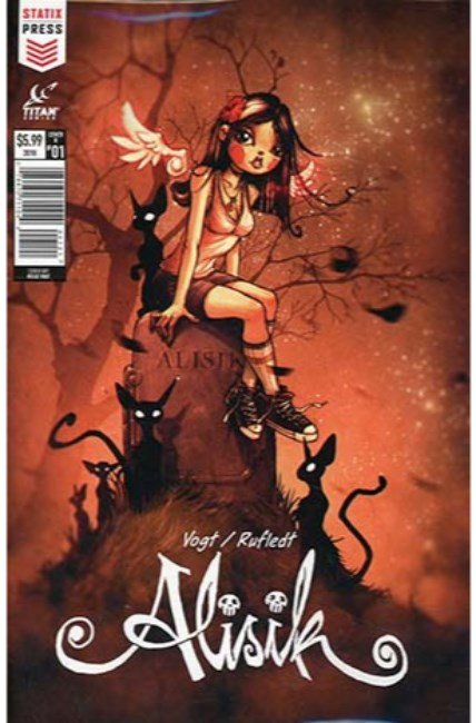 Alisik Fall #1 Cover B [Titan Comic] THUMBNAIL