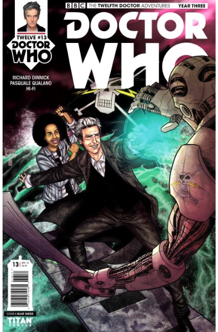 Doctor Who 12th Doctor Year Three #13 Cover A [Titan Comic] THUMBNAIL