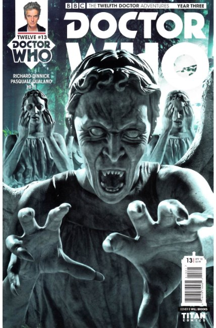 Doctor Who 12th Doctor Year Three #13 Cover B [Titan Comic] THUMBNAIL
