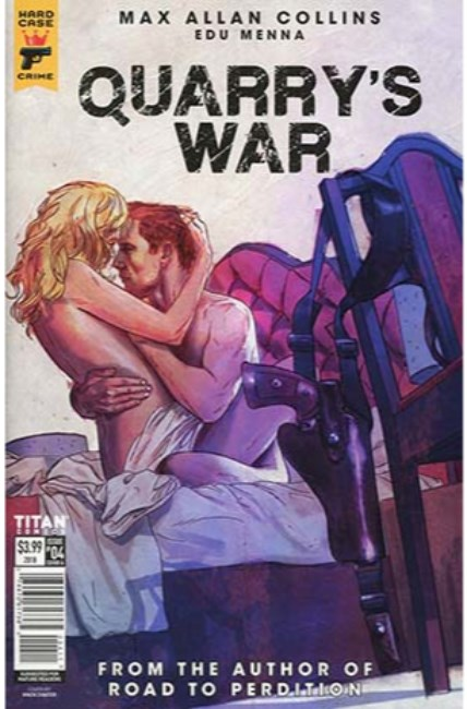 Quarrys War #4 Cover A [Titan Comic] THUMBNAIL