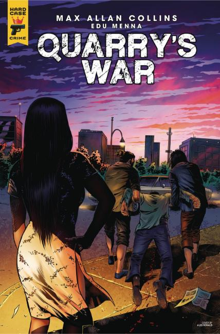 Quarrys War #4 Cover B [Titan Comic] THUMBNAIL