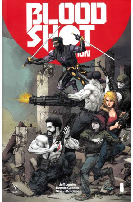 Bloodshot Salvation #6 Cover A [Valiant Comic] THUMBNAIL