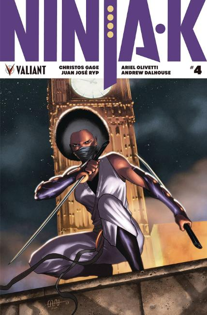 Ninja-K #4 Cover A [Valiant Comic]