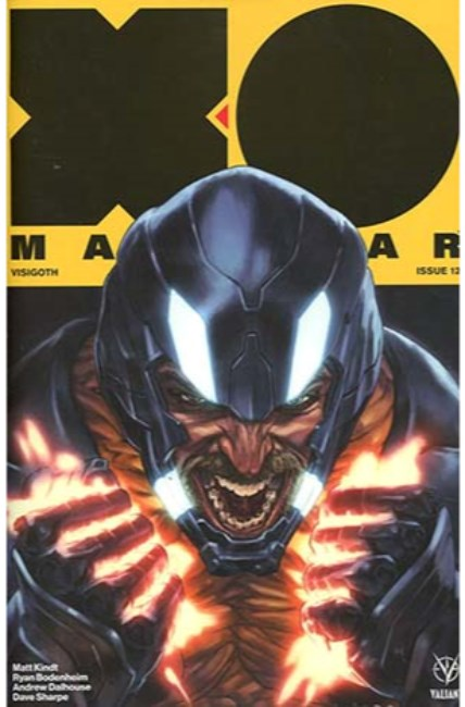 X-O Manowar #12 Cover A [Valiant Comic] THUMBNAIL