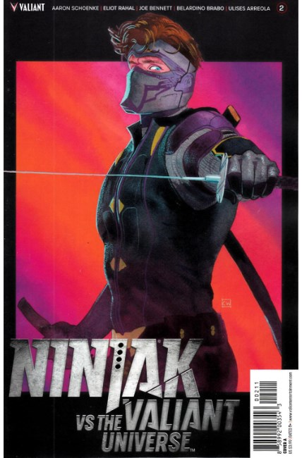 Ninjak vs VU #2 Cover A [Valiant Comic] LARGE