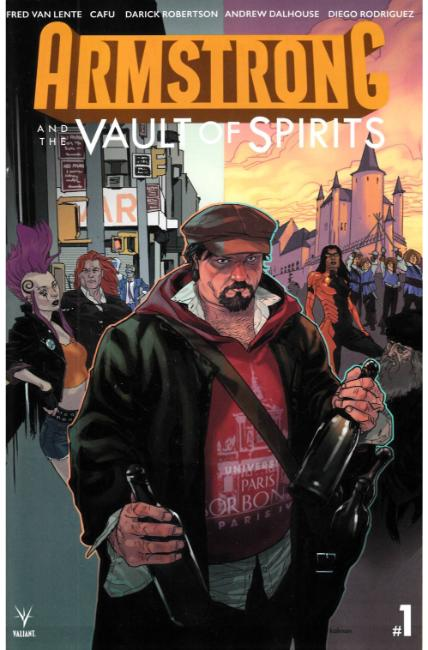 Armstrong & the Vault of Spirits #1 Cover A [Valiant Comic]_THUMBNAIL