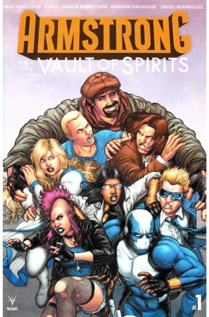 Armstrong & the Vault of Spirits #1 Cover B [Valiant Comic]_THUMBNAIL