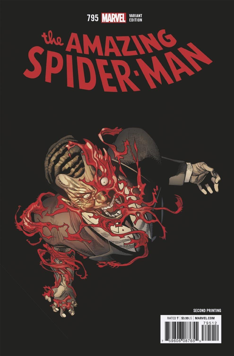 Amazing Spider-Man #795 Second Printing [Marvel Comic]
