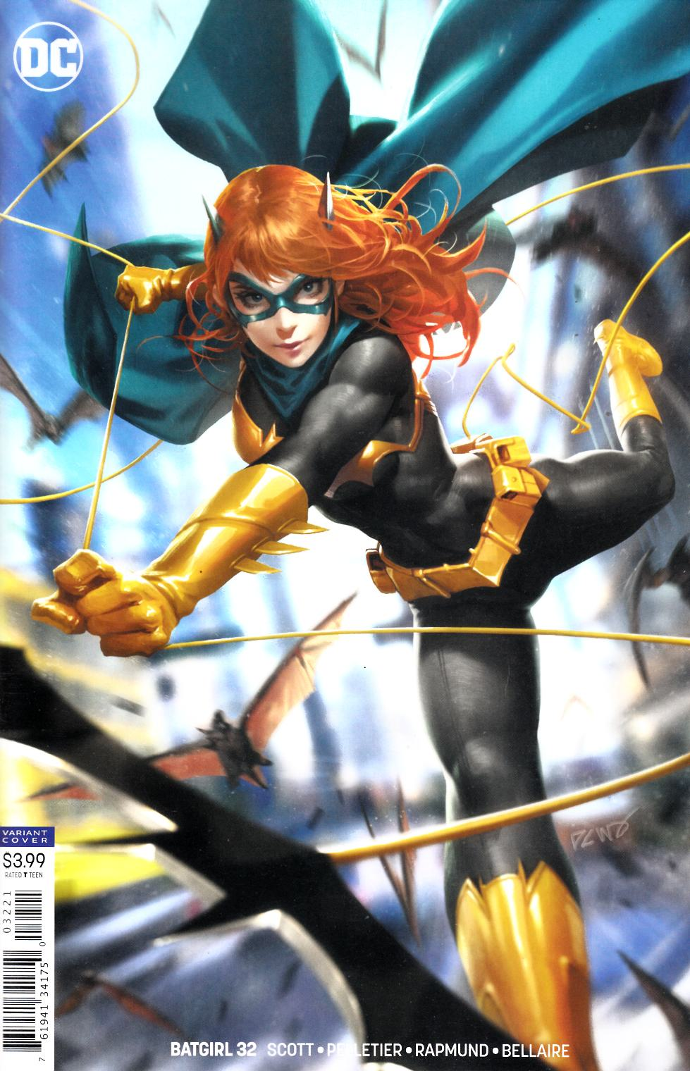 Batgirl #32 Chew Variant Cover Near Mint (9.4) [DC Comic]