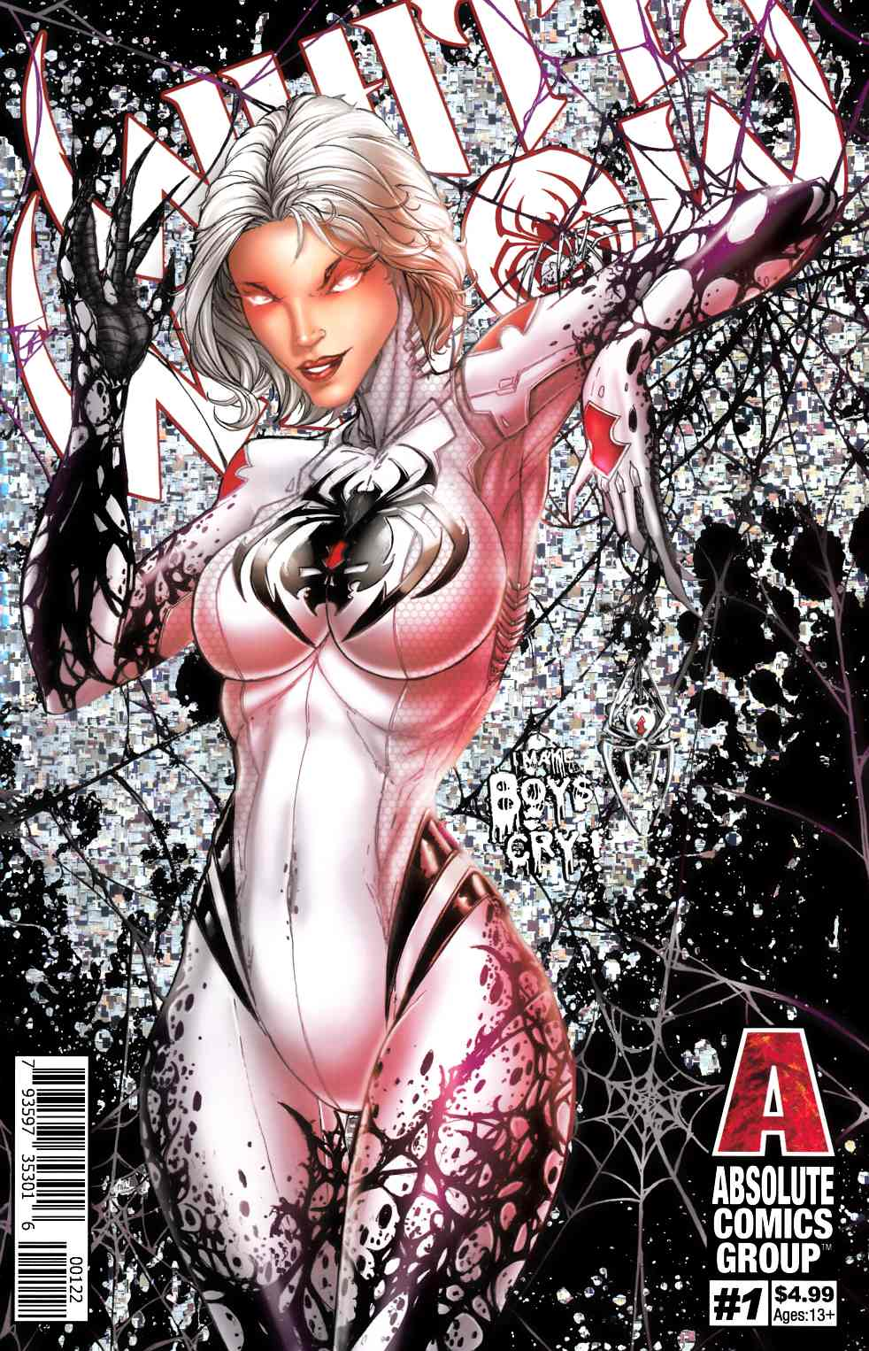 White Widow #1 Second Printing Cover B Near Mint (9.4) [Absolute Comic] THUMBNAIL