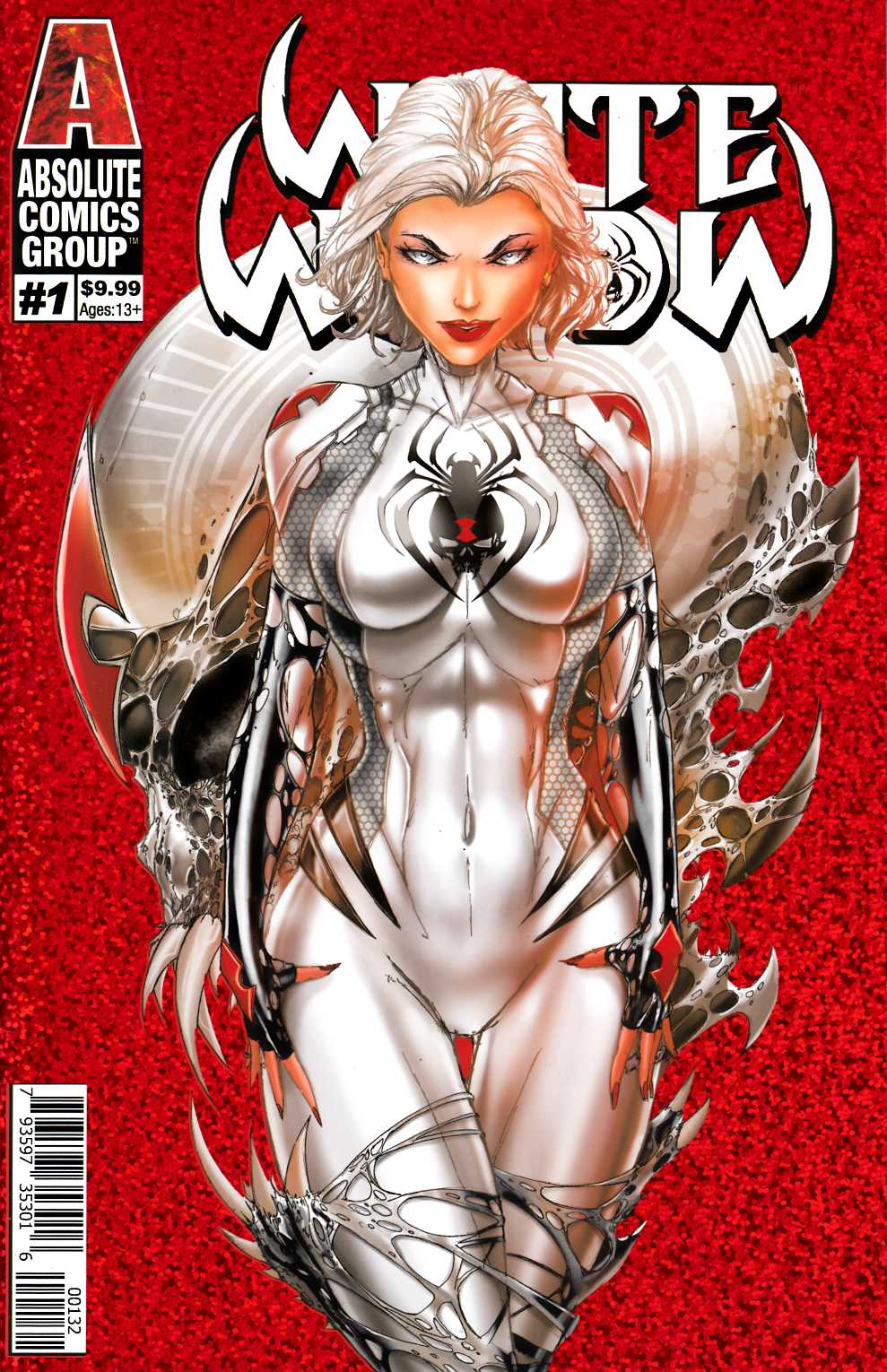White Widow #1 Second Printing Cover C Near Mint (9.4) [Absolute Comic] THUMBNAIL
