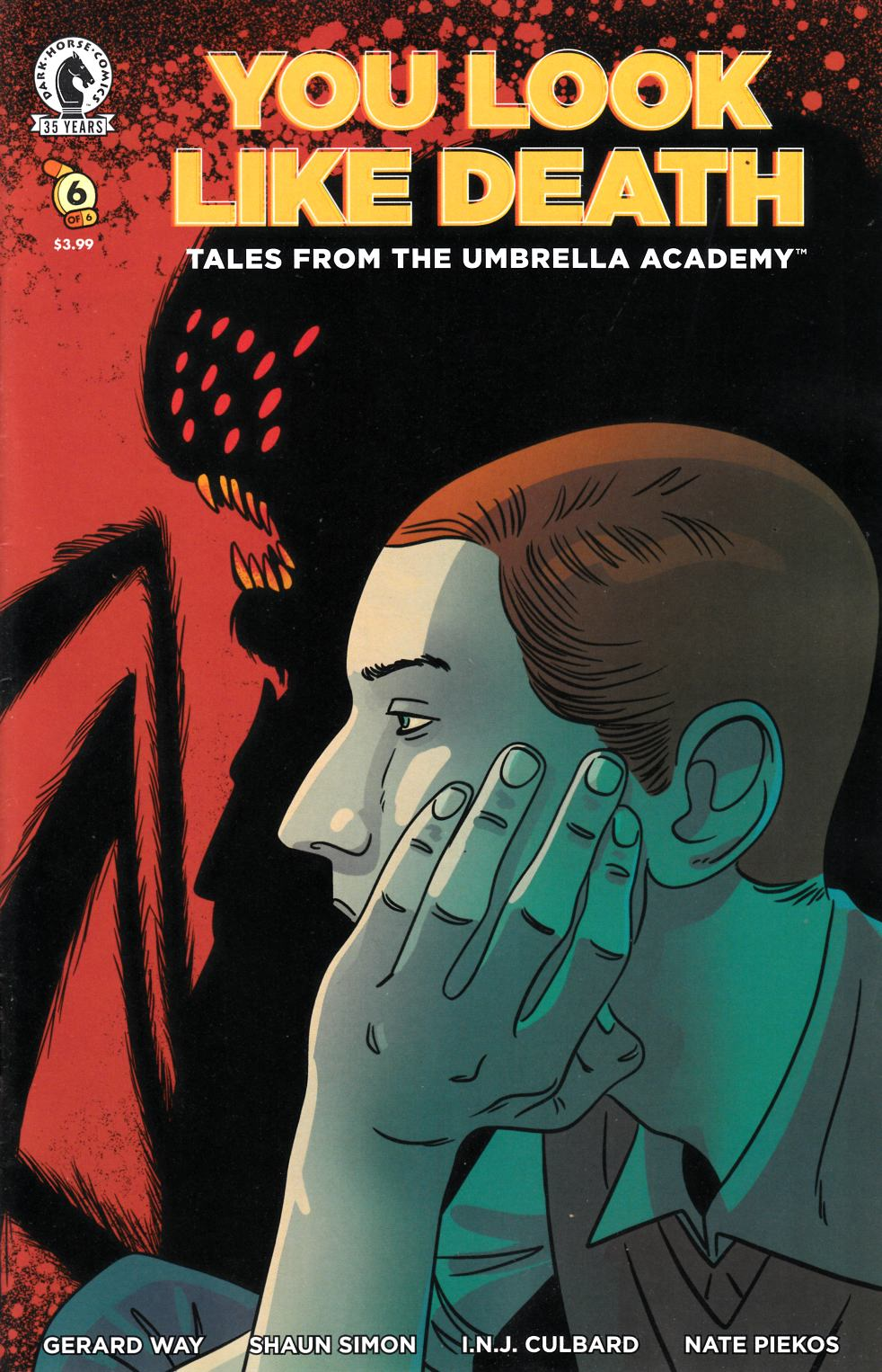 You Look Like Death Tales From the Umbrella Academy #6 Cover B Near Mint (9.4) [Dark Horse Comic] LARGE