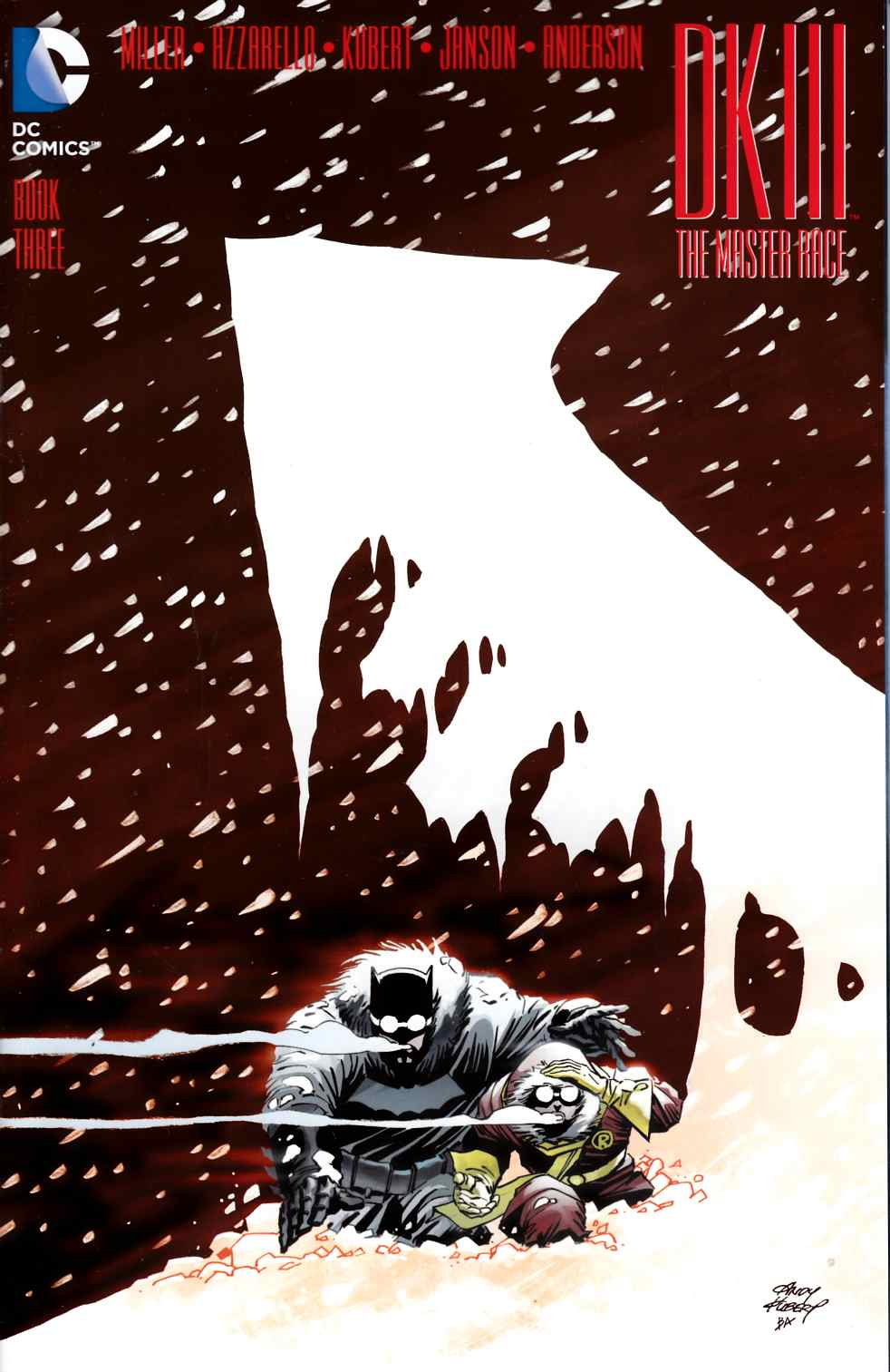 Dark Knight III Master Race #3 Second Printing [DC Comic] THUMBNAIL