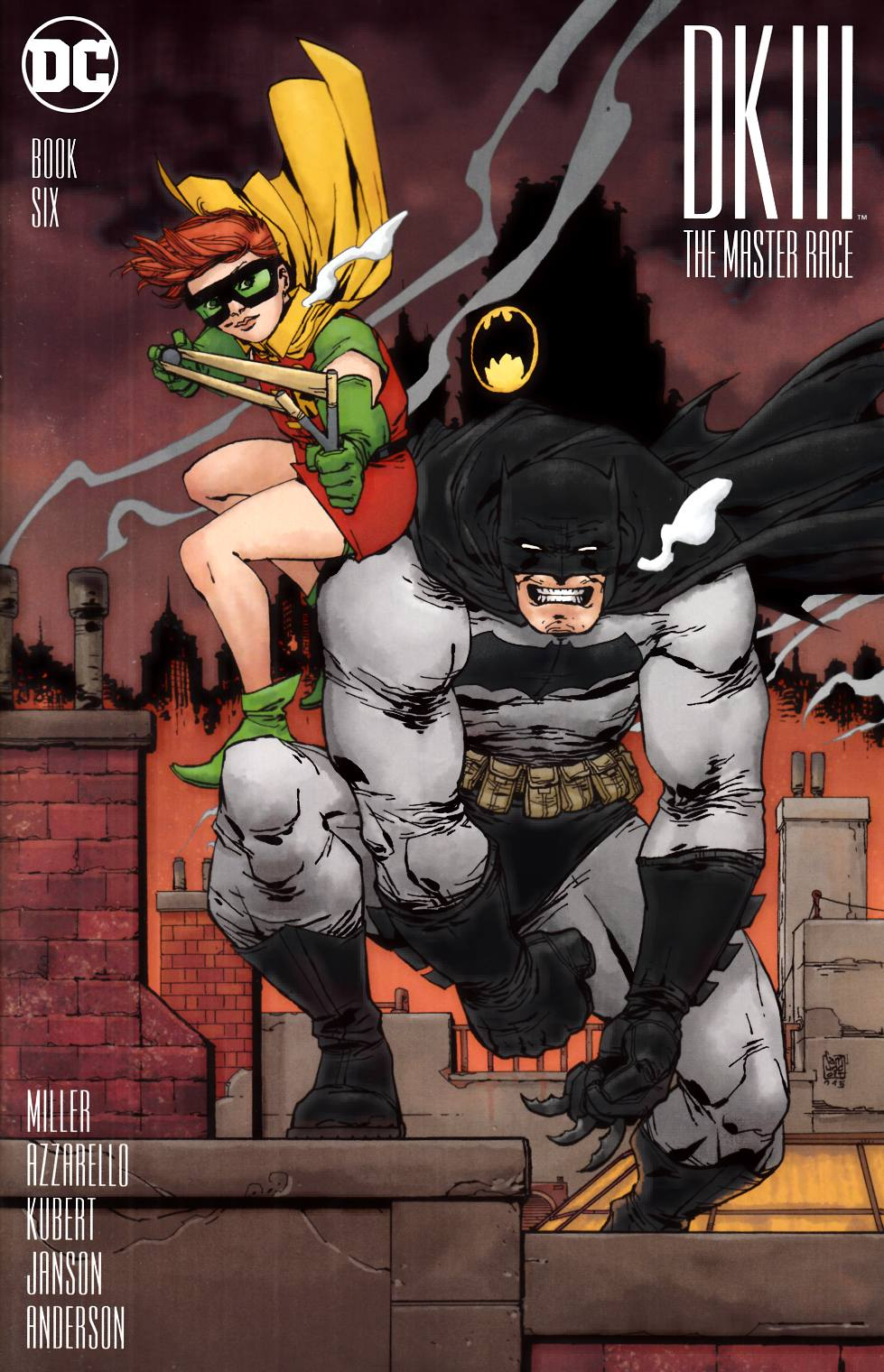 Dark Knight III Master Race #6 Camuncoli Variant Cover [DC Comic] LARGE