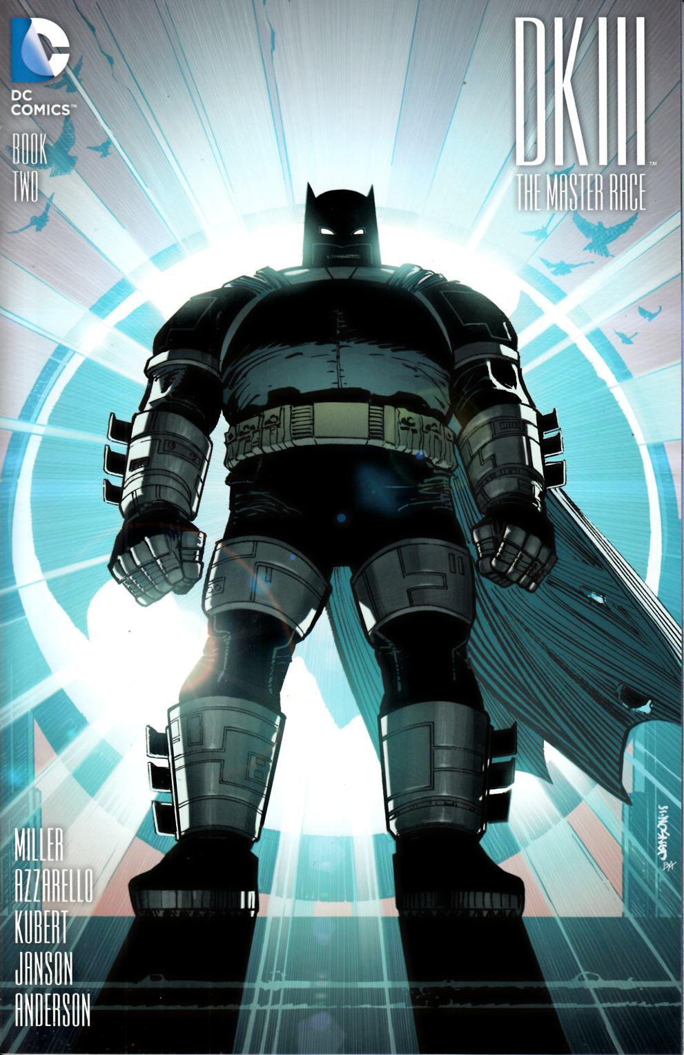 Dark Knight III Master Race #2 Janson Variant Cover [DC Comic] LARGE