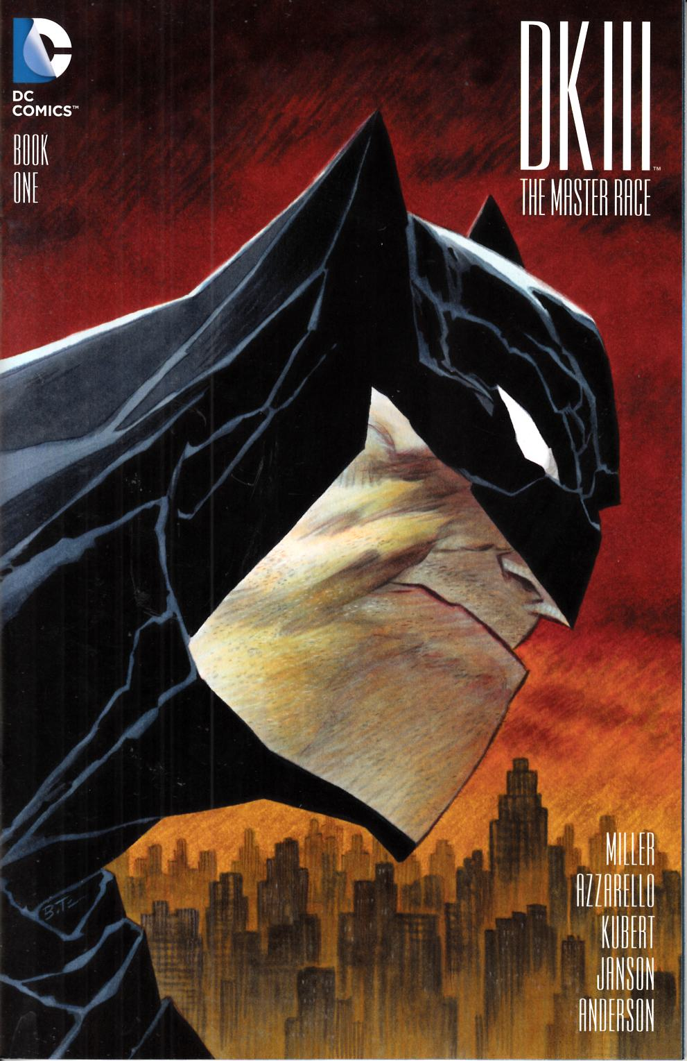 Dark Knight III Master Race #1 DF Exclusive Timm Cover [DC Comic] LARGE