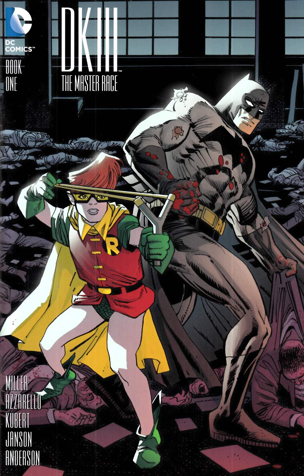 Dark Knight III Master Race #1 Janson Variant Cover [DC Comic] THUMBNAIL